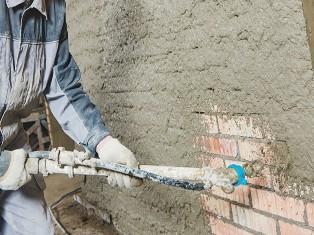 Штукатурка под маяк цементным раствором бетон кералит купить